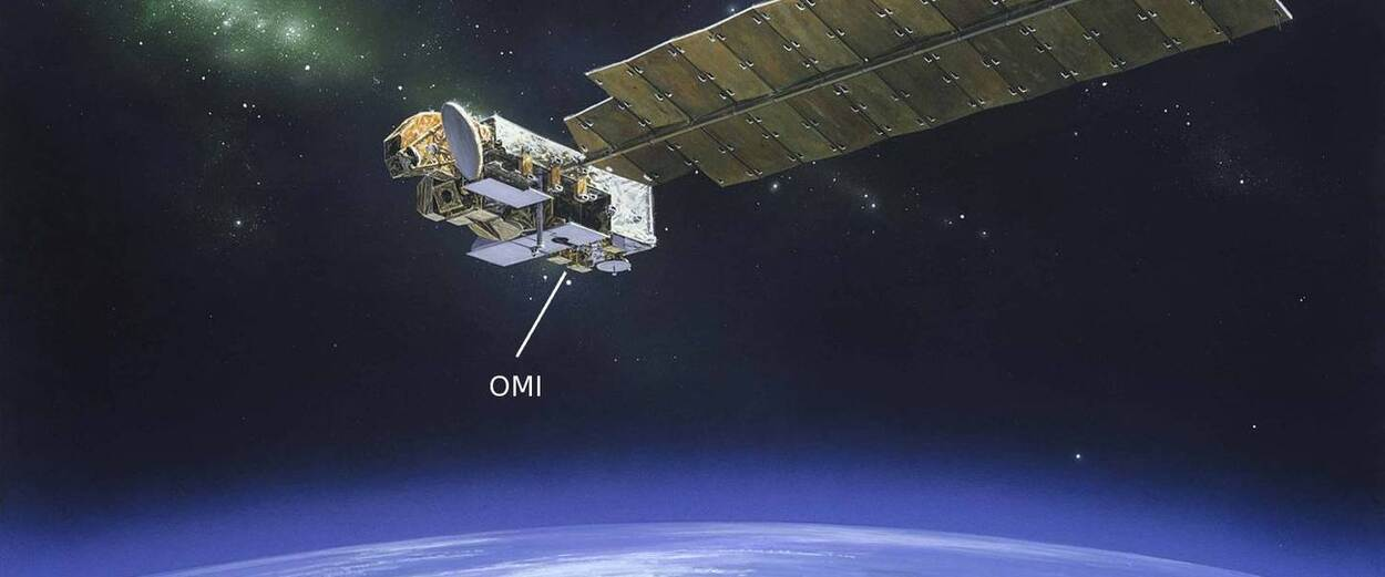 OMI on Aura satellite